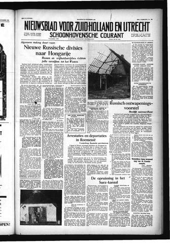 Schoonhovensche Courant 1956-11-19