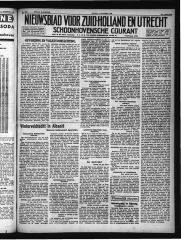Schoonhovensche Courant 1940-12-06