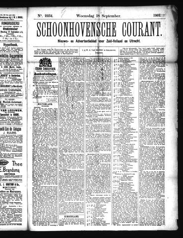 Schoonhovensche Courant 1901-09-18
