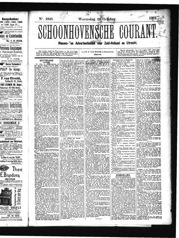 Schoonhovensche Courant 1902-10-22