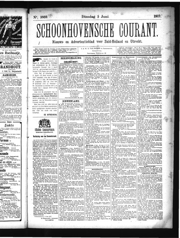 Schoonhovensche Courant 1917-06-05