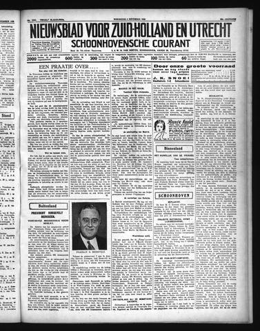 Schoonhovensche Courant 1936-11-04