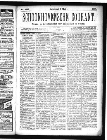 Schoonhovensche Courant 1913-05-03