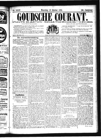 Goudsche Courant 1920-10-18