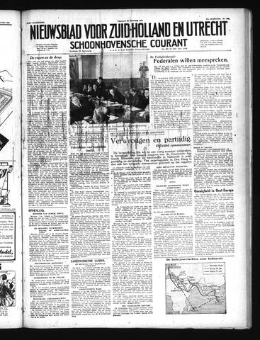 Schoonhovensche Courant 1949-01-28