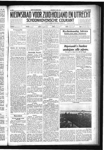 Schoonhovensche Courant 1933-05-22