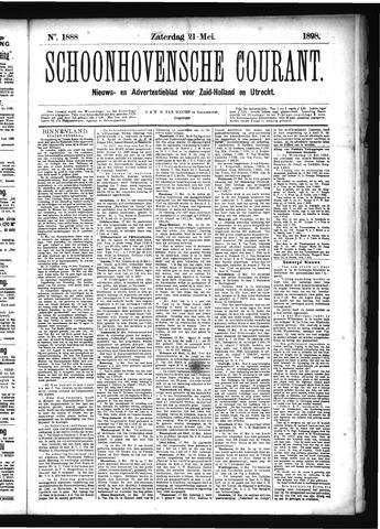 Schoonhovensche Courant 1898-05-21