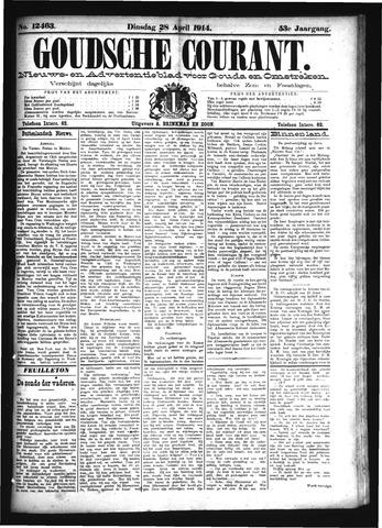 Goudsche Courant 1914-04-28
