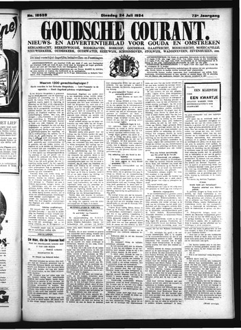 Goudsche Courant 1934-07-24