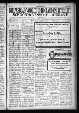 Schoonhovensche Courant 1929-06-28