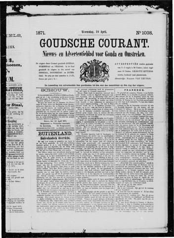 Goudsche Courant 1871-04-19