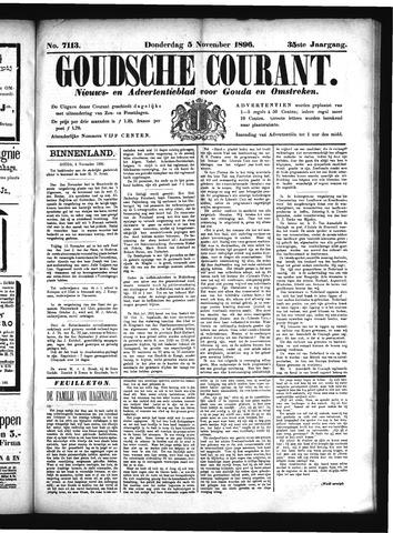 Goudsche Courant 1896-11-05