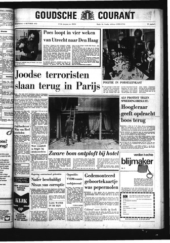 Goudsche Courant 1972-10-04