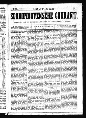 Schoonhovensche Courant 1875-01-17