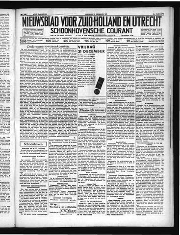 Schoonhovensche Courant 1937-12-29