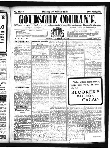 Goudsche Courant 1912-01-30