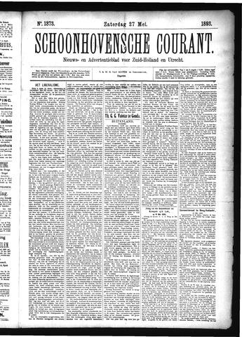 Schoonhovensche Courant 1893-05-27