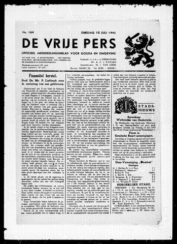 De Vrije Pers 1945-07-10