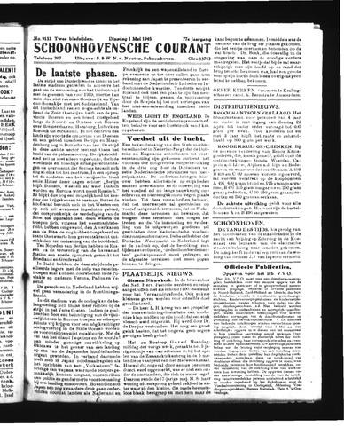 Schoonhovensche Courant 1945-05-01