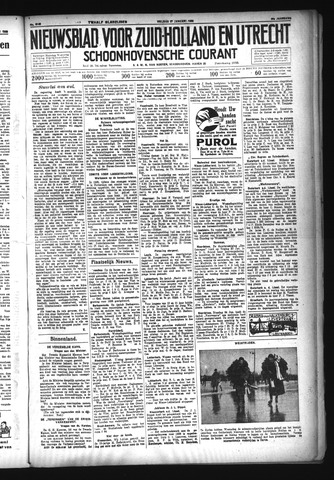 Schoonhovensche Courant 1933-01-27