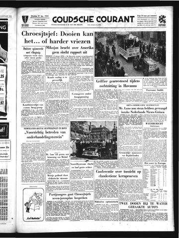 Goudsche Courant 1959-01-27