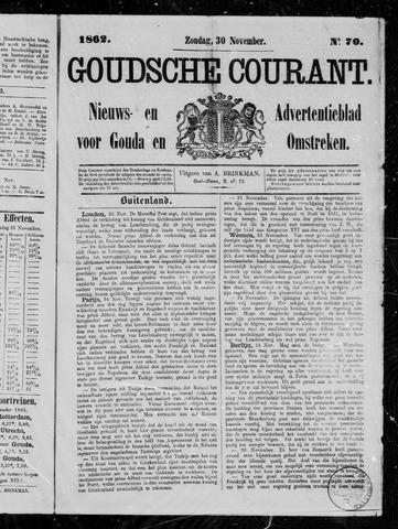 Goudsche Courant 1862-11-30