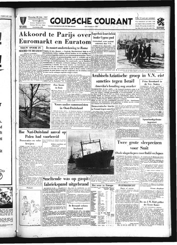 Goudsche Courant 1957-02-20