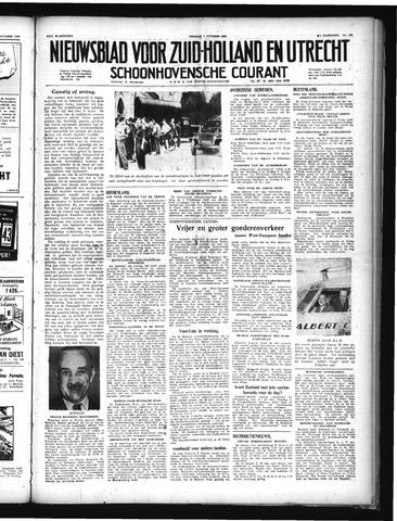 Schoonhovensche Courant 1949-10-07