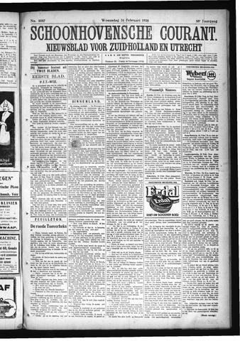Schoonhovensche Courant 1926-02-24
