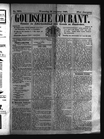 Goudsche Courant 1898-08-31