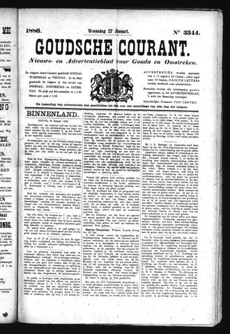 Goudsche Courant 1886-01-27