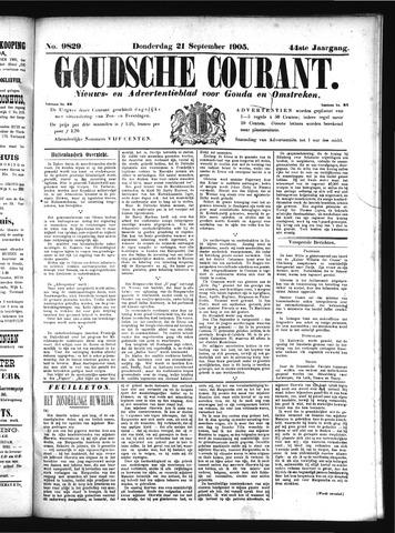 Goudsche Courant 1905-09-21