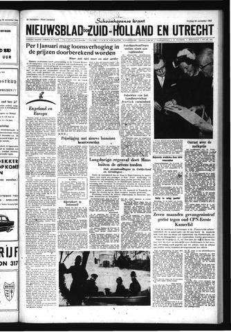 Schoonhovensche Courant 1963-11-22