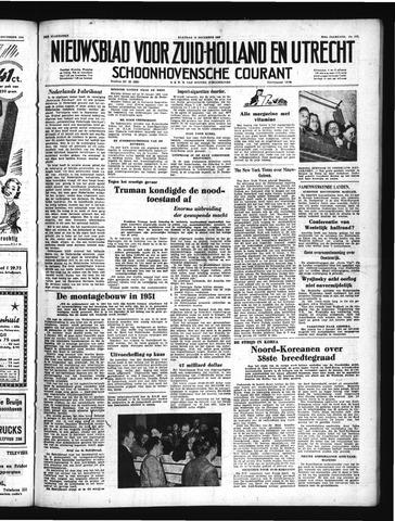 Schoonhovensche Courant 1950-12-18