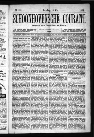 Schoonhovensche Courant 1879-05-18