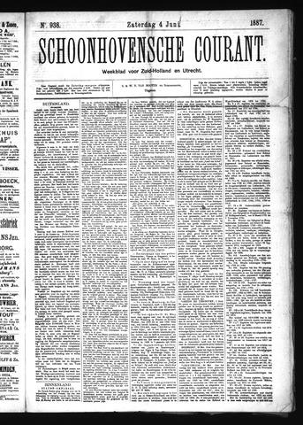 Schoonhovensche Courant 1887-06-04