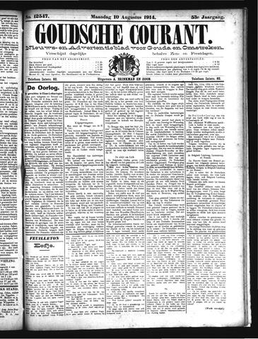 Goudsche Courant 1914-08-10