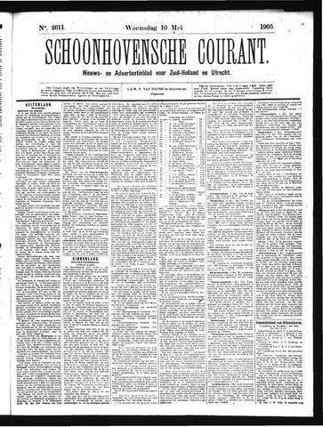 Schoonhovensche Courant 1905-05-10