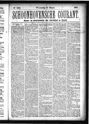 Schoonhovensche Courant 1897-03-31