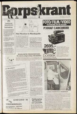 Dorpskrant 1987-11-11