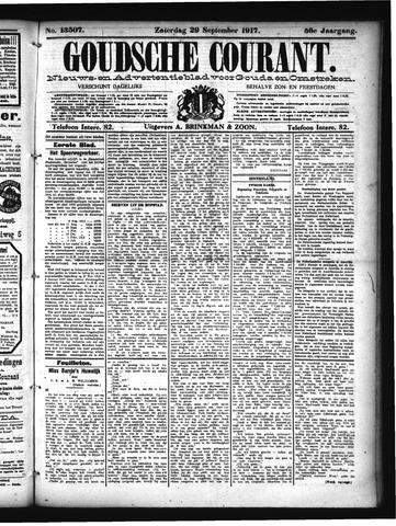 Goudsche Courant 1917-09-29