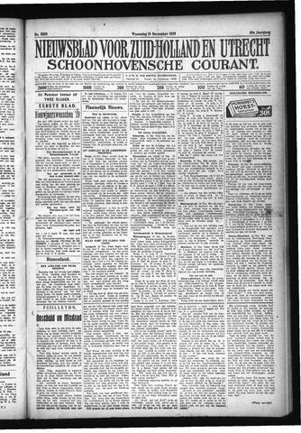 Schoonhovensche Courant 1928-12-19