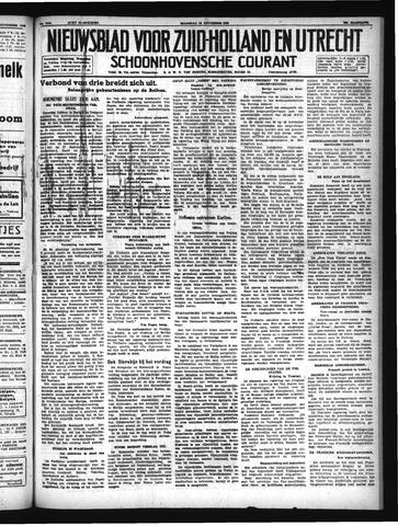Schoonhovensche Courant 1940-11-25