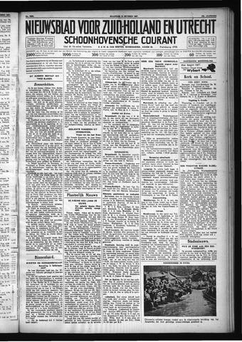 Schoonhovensche Courant 1931-10-12