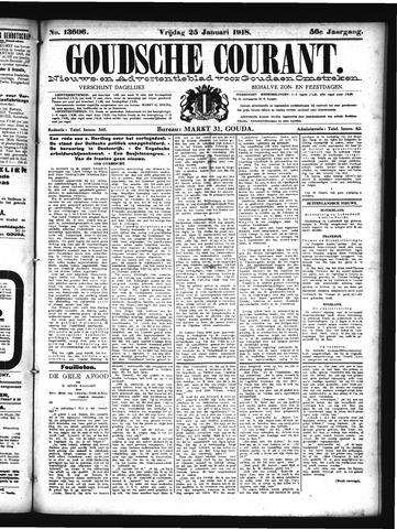 Goudsche Courant 1918-01-25