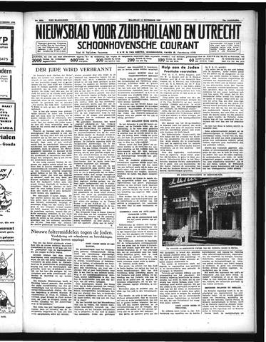 Schoonhovensche Courant 1938-11-14