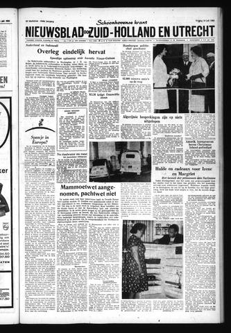 Schoonhovensche Courant 1962-07-13