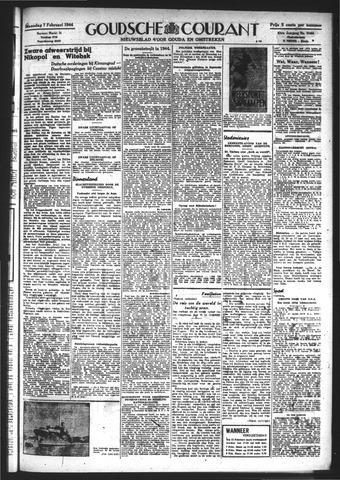 Goudsche Courant 1944-02-07