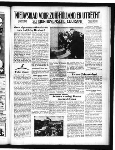 Schoonhovensche Courant 1951-04-27