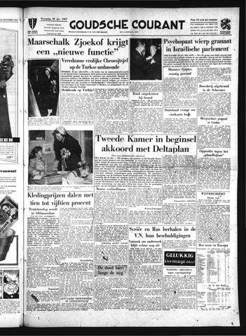 Goudsche Courant 1957-10-30